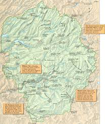 Yellowstone Map Usa by 24 High Resolution National Park Maps