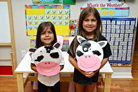 click clack moo cows that type cow paper plate mask