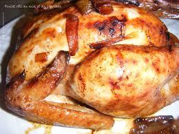 cuisiner un poulet entier poulet rôti au miel et au paprikas la cuisine des p tites douceurs