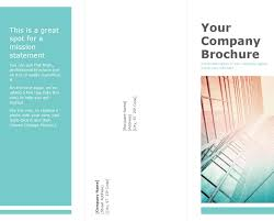 download blank brochure template 1 for free tidyform