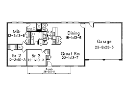 Downsizing Home Plans Time To by Ranch House Floor Plans With Dimensions U2014 Bitdigest Design Ranch