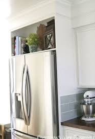 Kitchen Cabinet Refrigerator Home Built Refrigerator Enclosure Hometalk