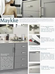 All Wood Bathroom Vanities by Maykke Sterling 48 Inch Bathroom Vanity Cabinet In Birch Wood