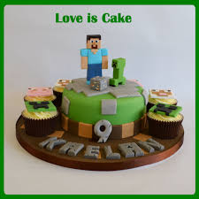 minecraft cake and cupcakes cakecentral com