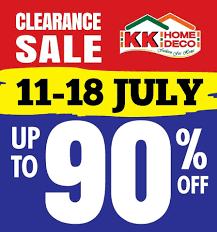 15 18 jul 2016 kk home deco clearance sale warehouse sales