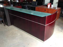 Reception Desk Price by Italian Reception Desk With Frosted Glass Transaction Counter