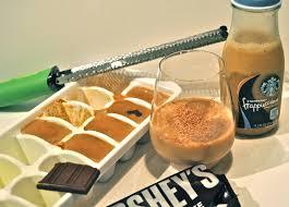 starbucks doubleshot vanilla light mocha vanilla frappuccino martini with espresso ice cubes style