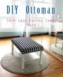 Ikea Side Table Hack Home Style Organize Diy Ottoman Ikea Lack Coffee Table Hack