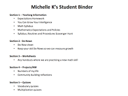 the together student part 1 good binders make good students
