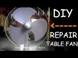 diy repair your table fan youtube