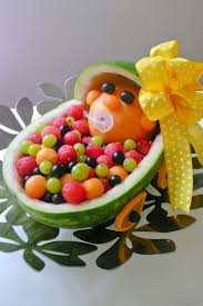 fruit trays for baby shower baby in stroller fruit tray baby