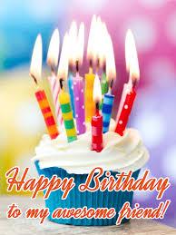 to my awesome friend happy birthday card birthday u0026 greeting