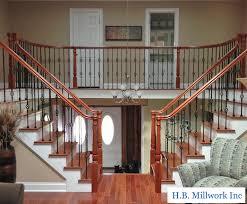 hb millwork inc custom railings yaphank ny