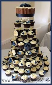 Wedding Cupcake Decorating Ideas Blue Wedding Cupcake Decorations