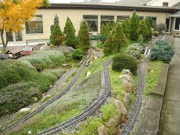 building a garden railroad home outdoor decoration