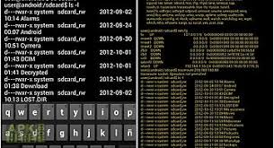 terminal emulator apk shell terminal emulator android for android free at apk