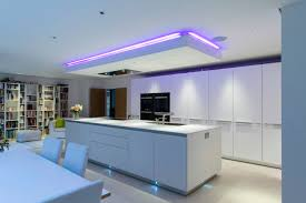 an interesting feature of this kitchen is the individually an interesting feature of this kitchen is the individually designed suspended ceiling above the island