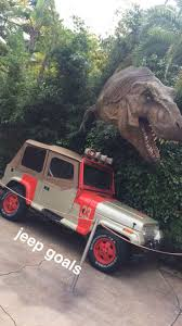 jurassic park car trex jurassic park rated jeep badge customer badge pics pinterest