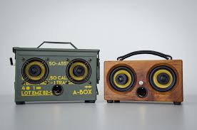 ibox mini hd bamboo wireless bluetooth speaker thodio