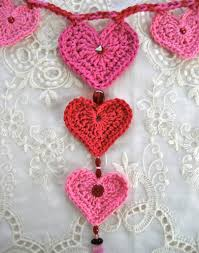 crochet hearts free patterns for valentine u0027s day