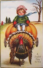 541 best thanksgiving vintage postcards images on