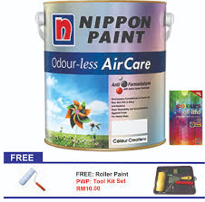 nippon paint odour less air care 5l 11street malaysia paints