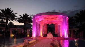 Platinum Wedding Decor Beautiful Bling Ceremony Decor For Platinum Weddings Planner