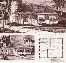 Retro Ranch House Plans 201 Best Vintage House Plans Images On Pinterest Vintage Houses