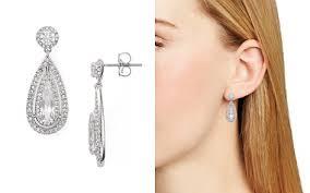 diamond teardrop earrings nadri earrings bloomingdale s