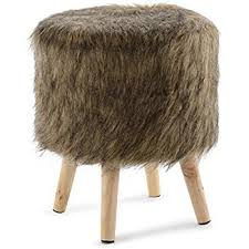 Faux Fur Ottoman Cheer Collection 13 Ottoman Soft