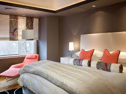 Fascinating  Orange Bedroom  Design Decoration Of Best - Best color walls for bedroom