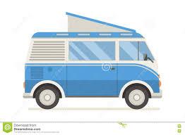 travel caravan bus stock vector image 71642531