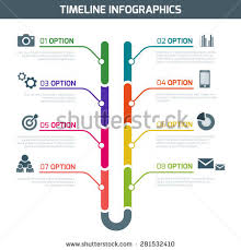 infographic template business network concept can stock vector