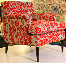 Modern Furniture Texas by Patterned Chairs Red Floral Patterned Chair Mid Century Modern