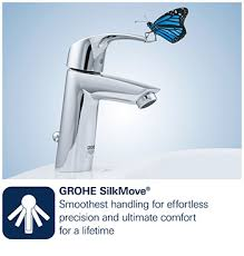 Grohe Eurodisc Single Handle Pull Out Sprayer Kitchen Faucet In