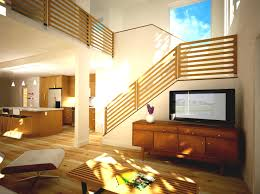 modern home design examples living room design with stairs home design ideas