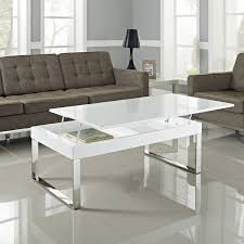 Coffee Tables With Lift Up Tops by Modern Coffee Table Mesmerizing Lift Up Modern White And Glass