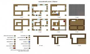 house blueprints free minecraft houses ideas step by step