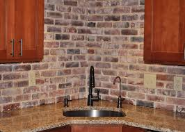 brick tile kitchen backsplash kitchen brick backsplash tile ideas and installation great home