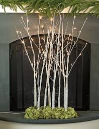 Lit Branches Led Birch Tree Warm White 5ft Birch Weddings And Wedding