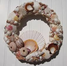 Decorative Wreaths For Home by Home Decoration Astonishing Seashell Wreath Design Ideas
