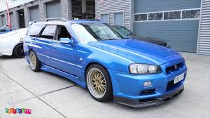 skyline wagon super rare nissan stagea r34 gtr wagon stationwagon at the