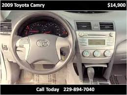 Used Volkswagen In Albany Ga by 2009 Toyota Camry Used Cars Albany Ga Youtube