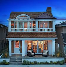 gambrel style homes french beach house with bi fold doors exterior beach style and