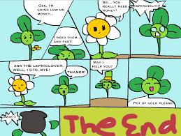 issue 19 we want a pot of gold blover u0027s komiks wiki fandom