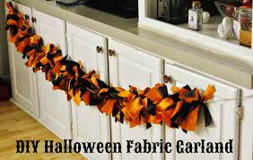 life with 4 boys diy halloween fabric garland
