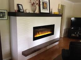 when renovating with an electric fireplace they are much less expensive to purchase and install than an equivalent sized gas fireplace partly