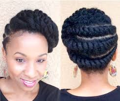 flat twist updo hairstyles pictures natural styles 35 natural updo hairstyles for prom night