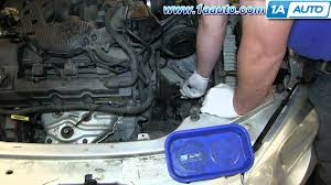 how to install replace transmission cooler lines 2001 06 chrysler