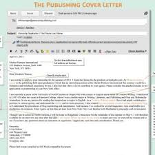 cover letter email cover letter and resume email accompanying